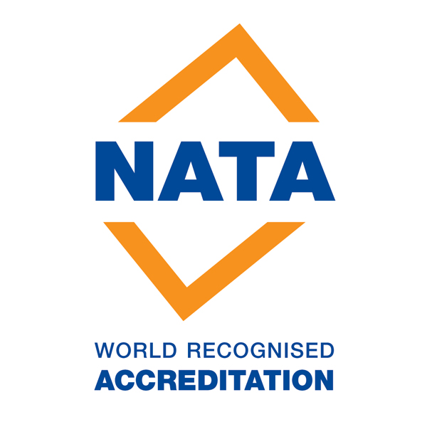 NATA World Recognised Accreditation